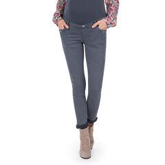 Pantalon de grossesse avec bandeau jersey intégré