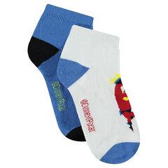 Set met 2 paar sokken van Disney/Pixar® met motief van superhelden