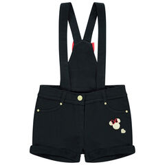 Short à bretelles motifs Minnie Disney