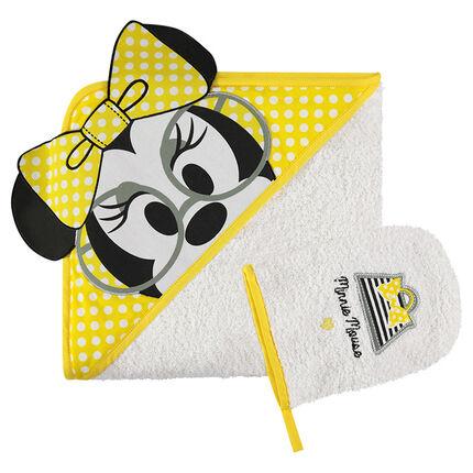 Disney badset  van badstof met geborduurde Minnie