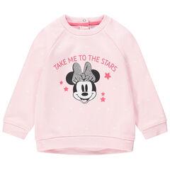Sweater van molton met sterrenprint Minnie Disney