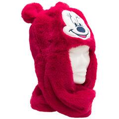 Muts met sjaal van sherpa van Minnie Disney