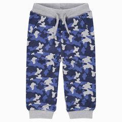Pantalon de jogging en molleton avec motif army