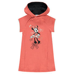 Robe à capuche en molleton Disney print Minnie