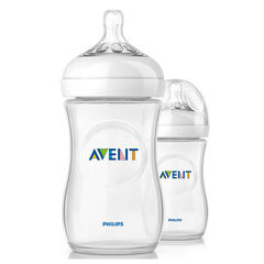 Set van 2 Natural-babyfles - 260 ml