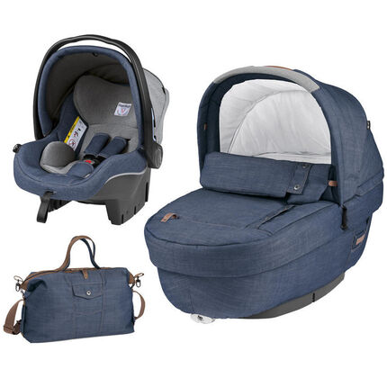 Navetta Elite luxe set gr 0+ - Urban denim