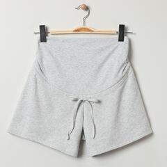 Short homewear de grossesse en maille fantaisie , Prémaman