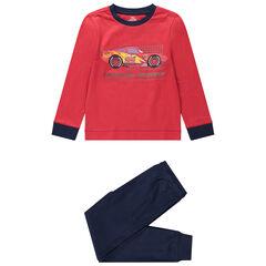 Cars-pyjama uit 2 delen met lange mouwen en jerseystof