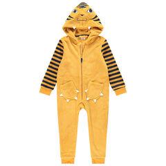 Surpyjama en sherpa tigre à détails brodés