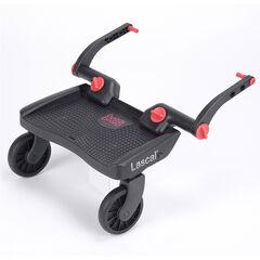 Planche à roulette BuggyBoard Mini - Noir/Rouge