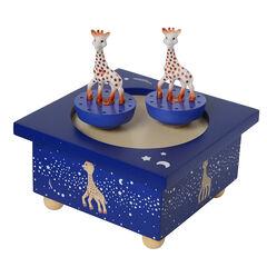 Houten muziekdoosje - Sophie de Giraf