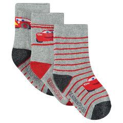 Lot de 3 paires de chaussettes assorties Disney/Pixar® motif Cars