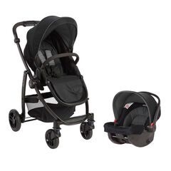 Poussette duo Evo Travel - Noir/Gris