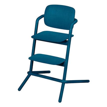 Kinderstoel LEMO in hout - Twilight Blue