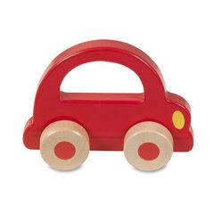 Rollende rammelaar Auto - Rood