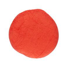 Housse ronde de coussin d'allaitement - Rouge