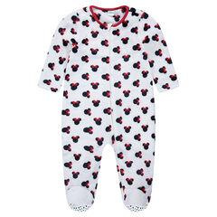 Overpyjama van velours van Disney's Minnie, van 12 maanden tot 5 jaar