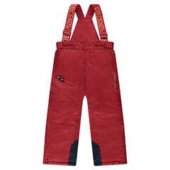 Pantalon de ski uni avec bretelles amovibles