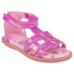 Nu-pieds fushia Hello Kitty