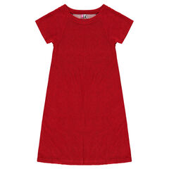 Junior - Halflange jurk van fantasiestof