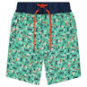 "Zwemshort met fantasieprint ""all-over""."
