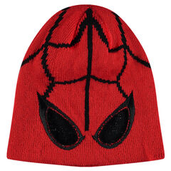 Bonnet en tricot Marvel motif Spiderman