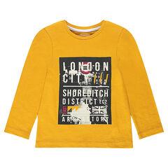 Junior - T-shirt met lange mouwen en fantasieprint