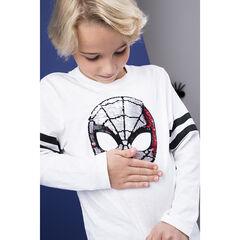T-shirt manches longues motif Spiderman en sequins pour enfant garçon , Orchestra
