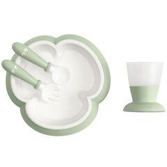 Set repas bébé - Vert pastel