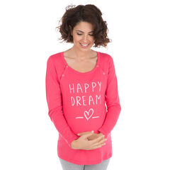 T-shirt ideaal als homewear tijdens de zwangerschap en de borstvoeding
