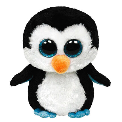 Peluche small 1er age Waddles le Pingouin