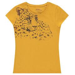 T-shirt met korte mouwen en fantasieprint