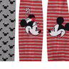 Lot de 2 collants épais motif Minnie et Mickey Disney