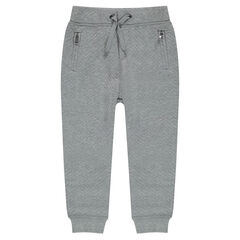 Pantalon de jogging en molleton ottoman