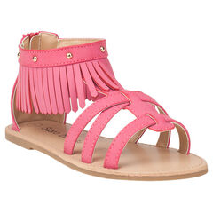 Sandalen met franjes en studs