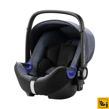 Autostoel Baby-Safe i-Size - Blue marble