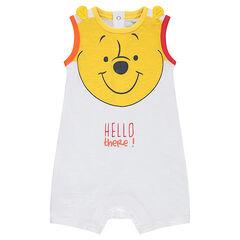 Korte playsuit van jerseystof met print van ©Disney's Winnie the Pooh