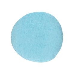 Housse ronde de coussin d'allaitement - Turquoise