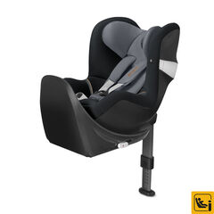 Autostoel isofix Sirona M2 i-Size groep 0+/1 + basis M - Pepper black