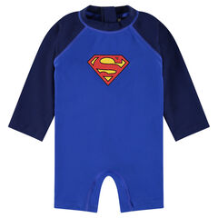 Korte anti-UV jumpsuit met ©Marvel print en Superman logo