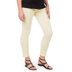 Pantalon 7/8 de grossesse avec ceinture croisée