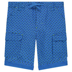 "Katoenen bermuda met print ""all-over"""
