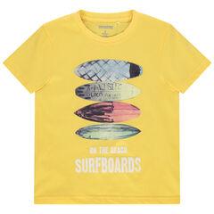 T-shirt manches courtes à print esprit surf , Orchestra
