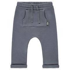Pantalon de jogging fourge basse avec poche kangourou