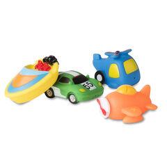 Set van 4 badspeeltjes voor jongens