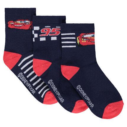 Lot de 3 paires de chaussettes assorties motif Disney/Pixar® Cars