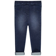 Jegging effet used coupe slim
