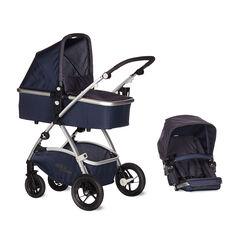 Kinderwagen D-Max Air - Jeans blauw