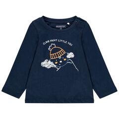 T-shirt manches longues avec print fantaisie pour bébé garçon , Orchestra