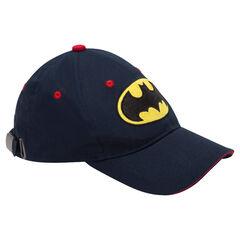 Pet van twill met geborduurd ©Warner Batman logo